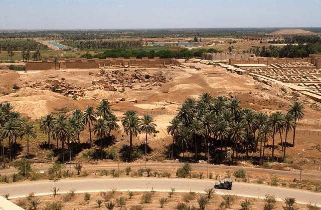 Visiter les vestiges du patrimoine mésopotamien